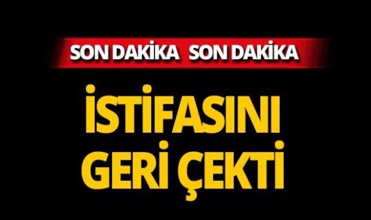 Canan Kaftancıoğlu istifasını geri çekti! İşte ilk açıklama!