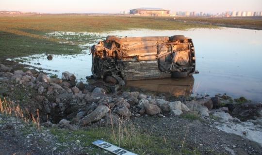 Cenaze yolunda trafik kazası: 3 yaralı