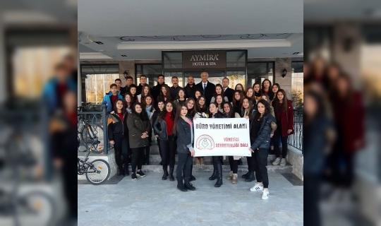 Çineli gençler işletmeciliği yerinde gördü
