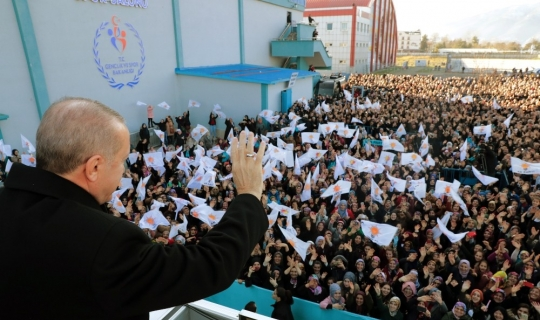 """Cumhurbaşkanı Erdoğan: """"Hesabi değil hasbi adaylarla yol yürüyeceğiz"""""""