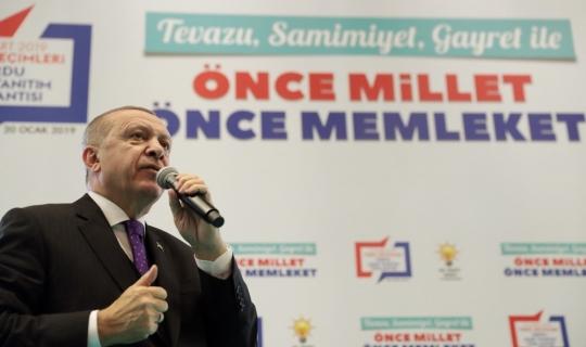 """Cumhurbaşkanı Erdoğan: """"Ne çektiysek hesabi olanlardan çektik"""""""