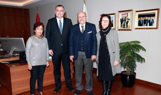 Derneklerden Başkan Taşdelen'e hayırlı olsun ziyareti