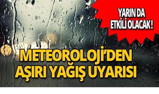 Dikkat! Meteoroloji'den Antalya için uyarı üstüne uyarı!