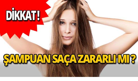 Dikkat! Şampuan saça zararlı mı?