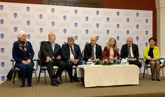 """DTSO Başkanı Şahin, """"Ürdün'deki ticari fırsatlar değerlendirilmeli"""""""