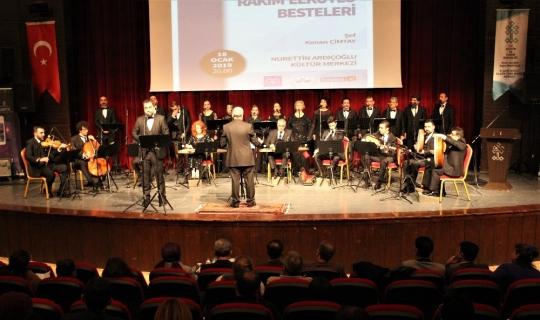 Elazığ'da Devlet Klasik Türk Müziği Korosu 2019'un ilk konserini verdi