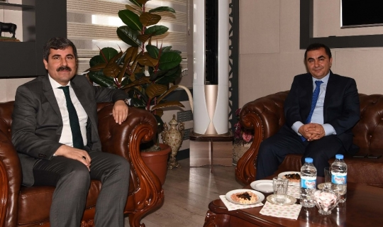 Emniyet Müdürü Arıbaş'tan Başkan Asya'ya ziyaret