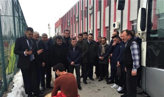 Eskişehirspor maç öncesinde kurban kesti