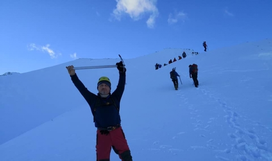 ETUDOSD yine Dedegöl Dağı Kış Tırmanışı ile başladı