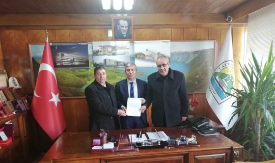 Filistin Pasajı'nın Tatvan Belediyesine devri için protokol imzalandı
