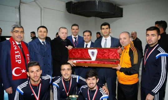 Gaziantep Polisgücü Trophy hazırlık kampını Alanya'da yapacak