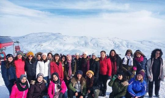 Gençlik Kampları Erciyes'te devam ediyor