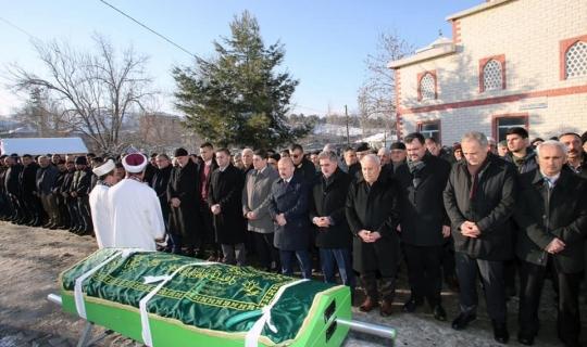 Göynücek Belediye Başkanı Şahin'in baba acısı