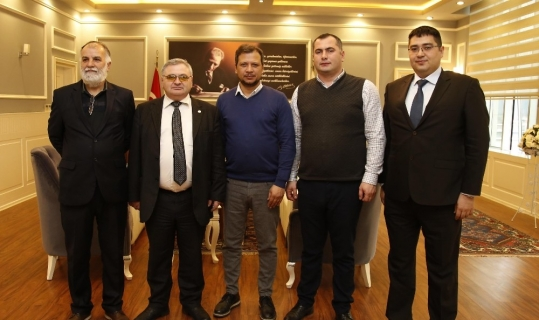 Gürcistan heyeti Döşemealtı'nda