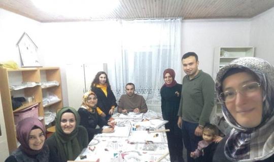 Hisarcık'ta Filografi Kursu açıldı