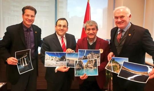 Kanada'da Antalya tanıtımı yapılmaya başlandı!