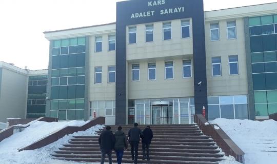 Kars'ta ayakkabı hırsızları yakalandı