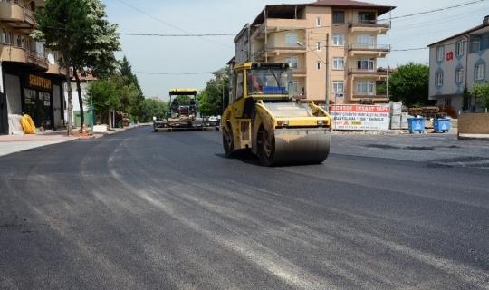 Kartepe'de son 5 yılda rekor asfalt kullanıldı