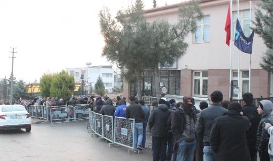 Kilis'te bin 500 kişilik iş için 11 bin 482 başvurdu