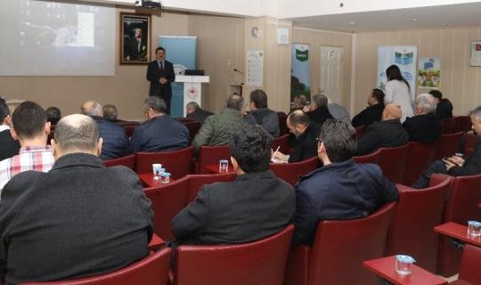 """Kırıkkale'de """"Ne kadar çok bilirsek o kadar verimli üretiriz"""" toplantısı"""