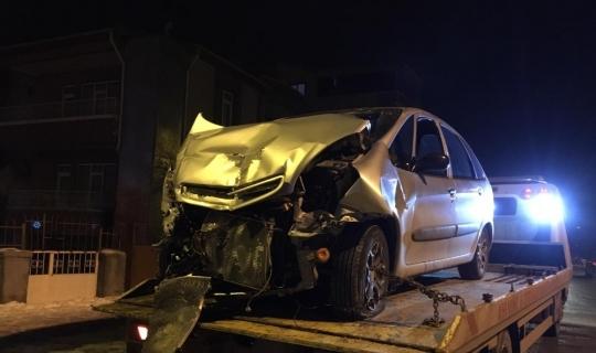 Kırşehir'de kaza: 2 yaralı