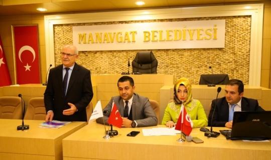 Manavgat Belediyesi'nde Sıfır Atık bilgilendirme toplantısı