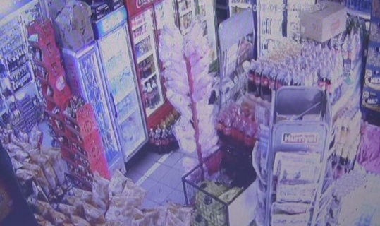 Marmaris'te 1 haftada üçüncü deprem: son deprem anı kamerada