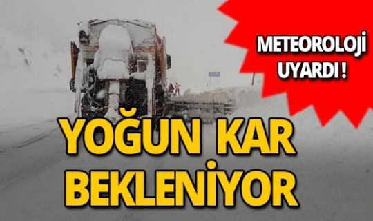 Meteoroloji'den Antalya için kar uyarısı!