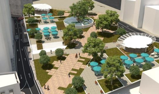 Meydan Parkı 3. etap yapım ihalesine çıkıyor