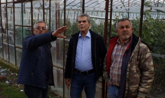 MHP Finike adayı Dülgeroğlu afet bölgesinde