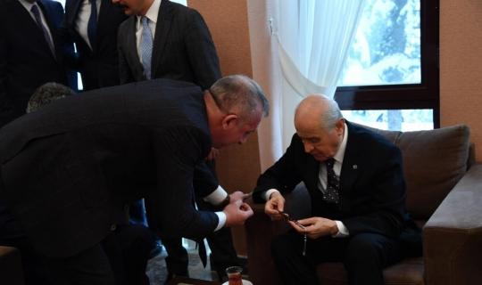 MHP Kastamonu İl Başkanı Yüksel Aydın, MHP İl Başkanları toplantısına katıldı