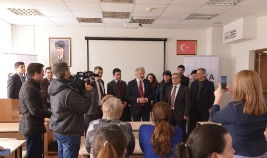 Moldova'da Hamdullah Suphi Tanrıöver Türk Dili Sınıfı açıldı