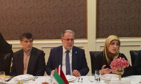 Osman Nuri Gülaçar, İran heyetiyle bir araya geldi