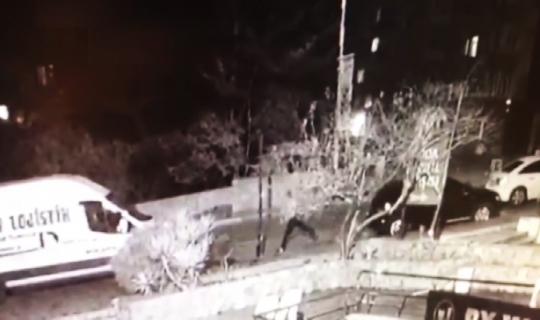 (Özel) İstanbul'da bir garip olay kamerada