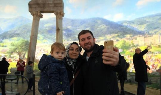 Panoramik müzede selfie günü