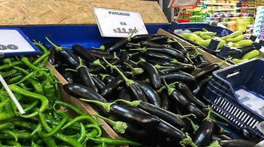 Patlıcana 3 ayda yüzde 400 zam geldi