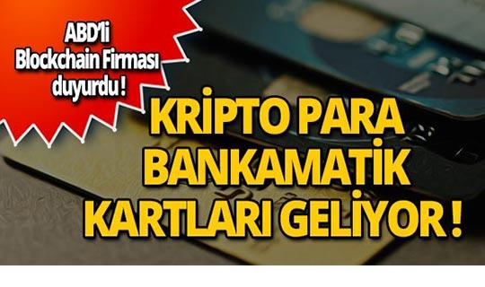 Pek çok kripto parayı destekleyen bankamatik kartı geliyor!