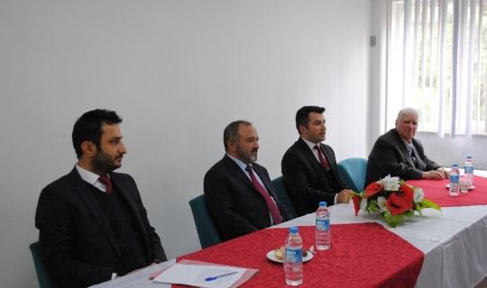 Rektör Çufalı, protokol üyeleri ve STK temsilcileri ile buluştu