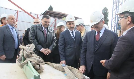 Restorasyonu başlayan tarihi Şehzade Korkut Camii'ne ilk taşı Vali Karaloğlu koydu