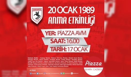 Samsunsporlu teknik direktör ve futbolcular anılacak
