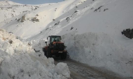 Sason'da 47 köy yolu ulaşıma açıldı