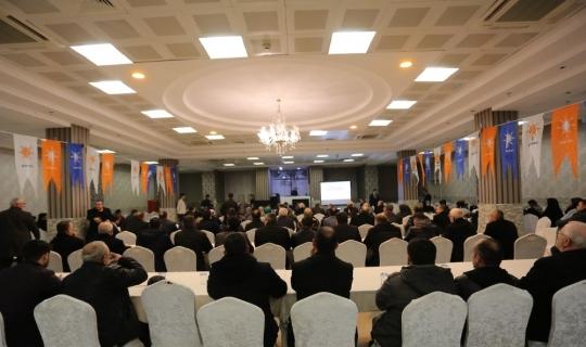 Serdivan'da değerlendirme toplantısı gerçekleşti