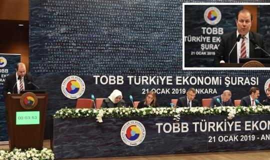 Tarım ve hayvancılık sektörünün sorunları Türkiye Ekonomi Şurası'na taşındı