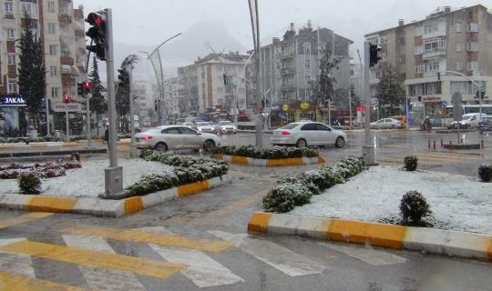 Tokatlılar kar yağışından memnun