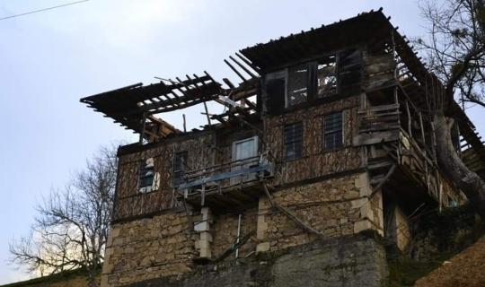Trabzon'da fırtına