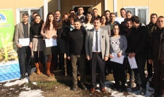 """Tunceli'de 'Kurumsal İmajın Geliştirilmesi, Etkili İletişim"""" eğitimi"""