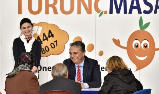 Turunç Masa'da 466 bin 93 başvuru çözüldü