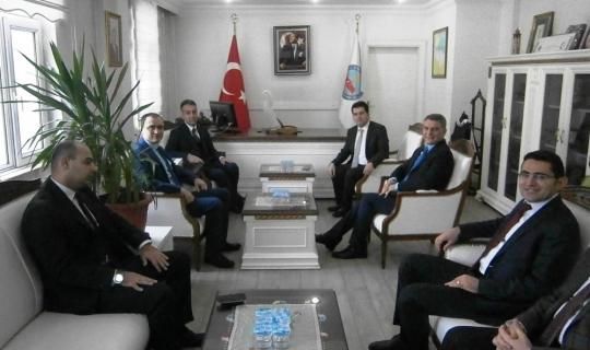 Vali Çağatay'dan Kaymakam Özkan'a ziyaret