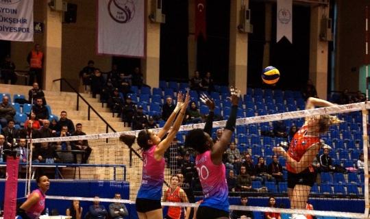 Vestel Venus Sultanlar Ligi: Aydın Büyükşehir Belediyespor: 2 - Çanakkale Belediyespor: 3