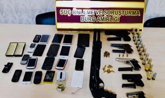 Yasa dışı silah üretenlere operasyon